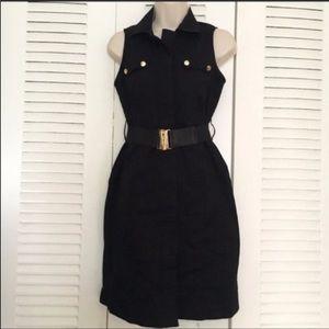 New York & Company black size 2 shirt dress